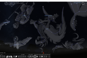 . Stellarium . virtuální planetárium .